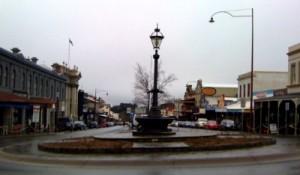 Main street of Daylesford